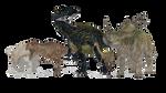 JWE Deluxe Dinosaur Pack by TyrantrusMax