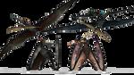 MMD: JP/JW Pterosaurs Pack Dl by TyrantrusMax
