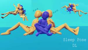 |MMD|Sleep Pose ~ by HeyFelks