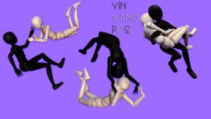 |MMD|Yin Yang pose FIX by HeyFelks
