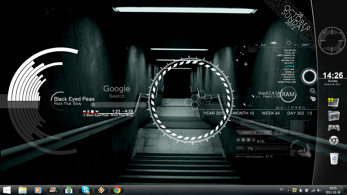 equalizer live wallpaper windows 7