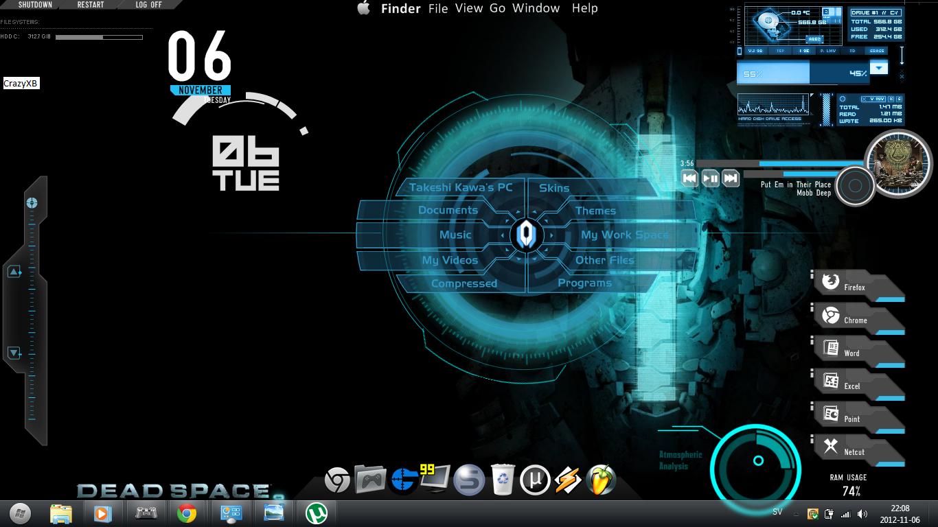 Windows 8 Gaming Themes