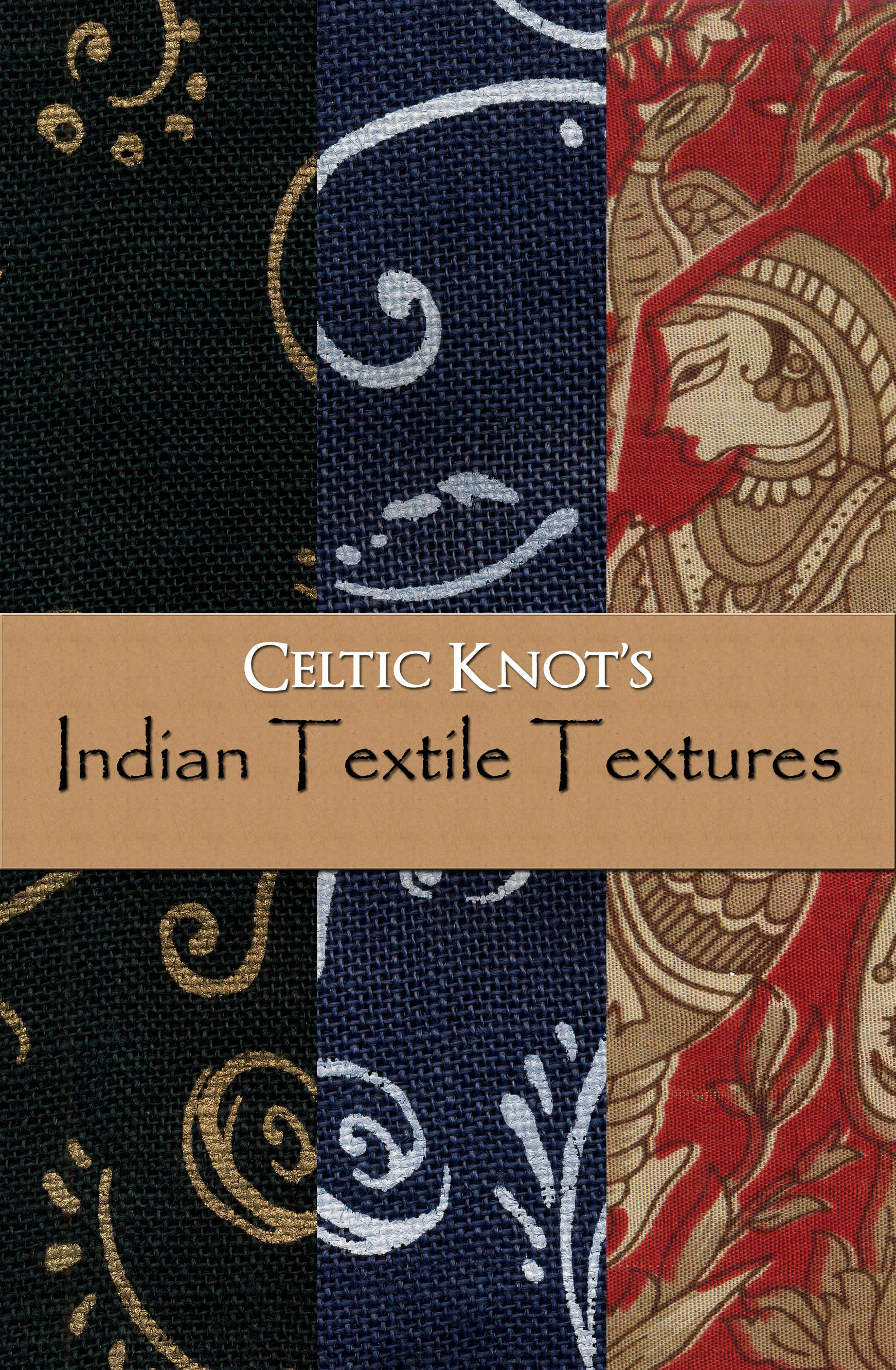 Indian Textiles Textures by Celtic-Knot