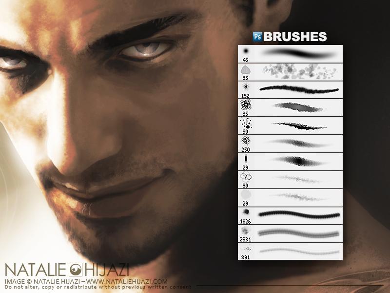 APs Brushes: Skin Textures by NatalieHijazi