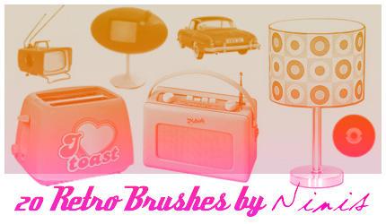 Retro Brushes by Ninis