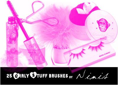 girly stuff brushes by Ninis