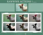 RAWWWR actions!