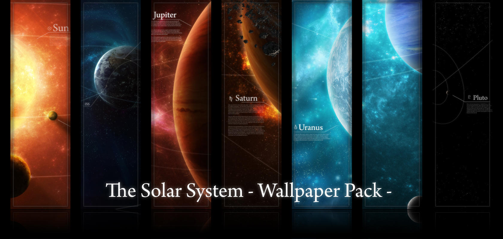 Solar system wallpaper | Wallpaper Wide HD