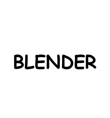 how to use blender as photoshop