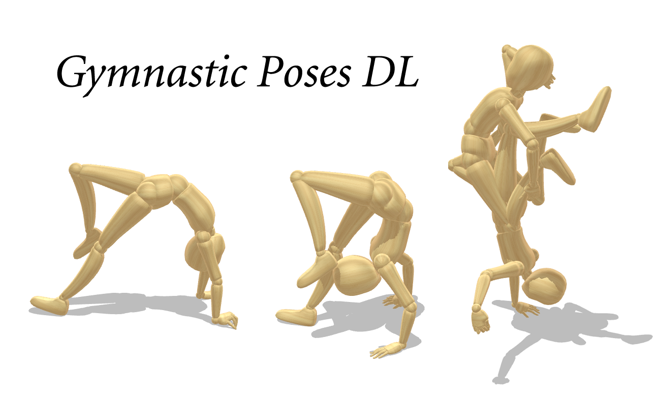 Gymnastic Poses DL by innaaleksui