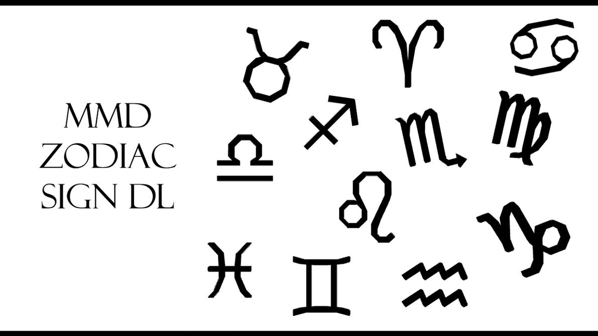 MMD Zodiac Signs DL by innaaleksui