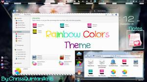 Rainbow Colors Theme (Iconpackger)