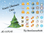 Kawaii Christmas Orbs