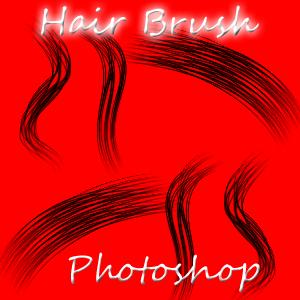 Photoshop Hair Brush by Taniiyaz