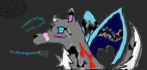 Kia the dragonwolf