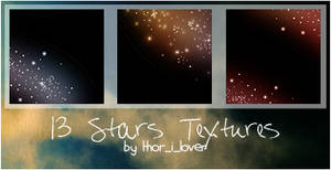 Stars textures in color