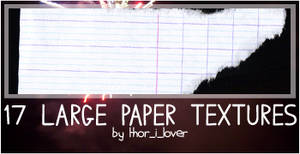 Large Paper textures