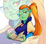 Original Art: Green Witch
