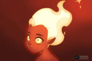 Animation: Flame Girl by VanessaFardoe