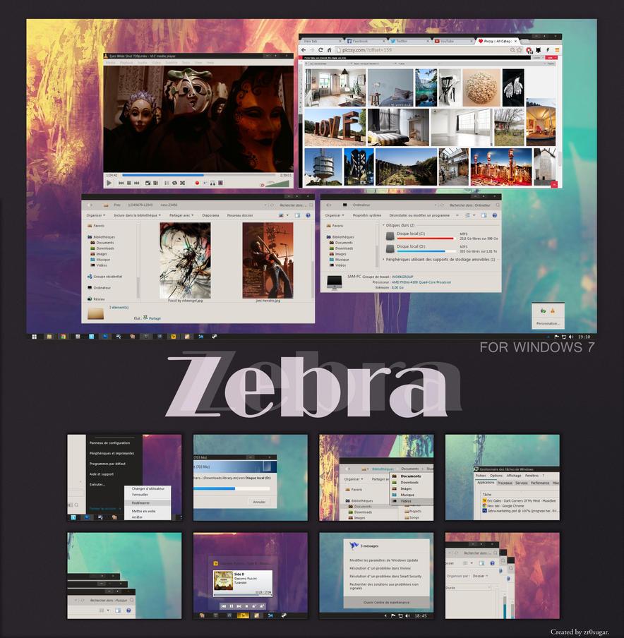 Zebra by barbiturikK