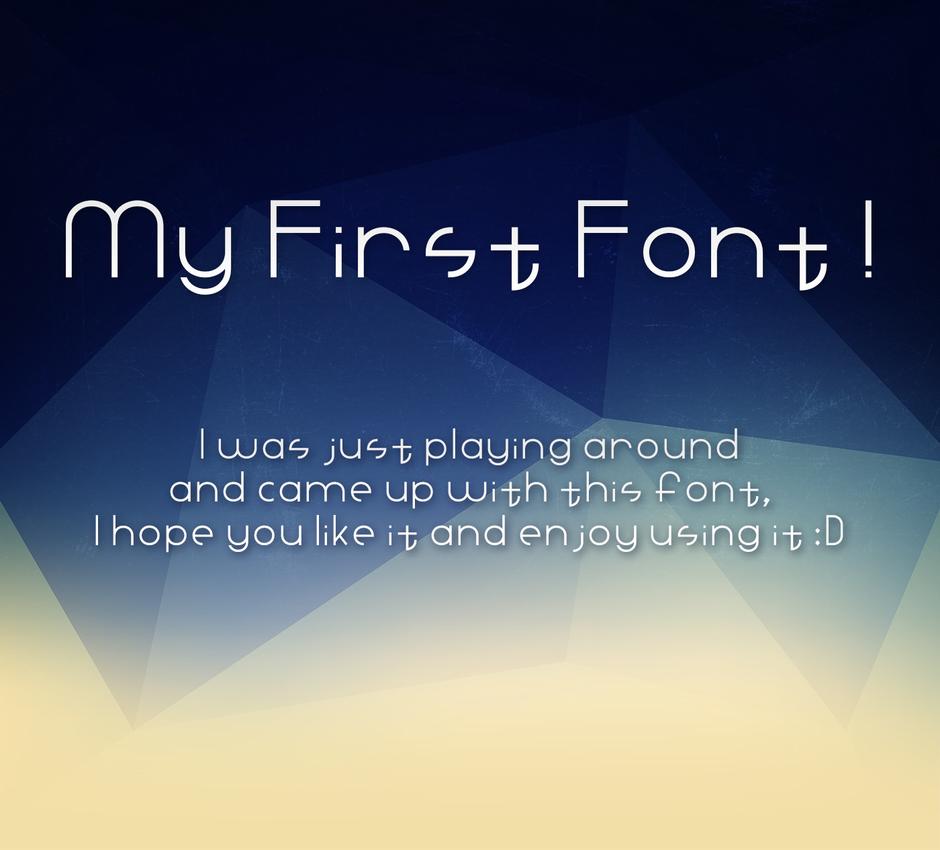 Ahmad Font ! by ahmad-y