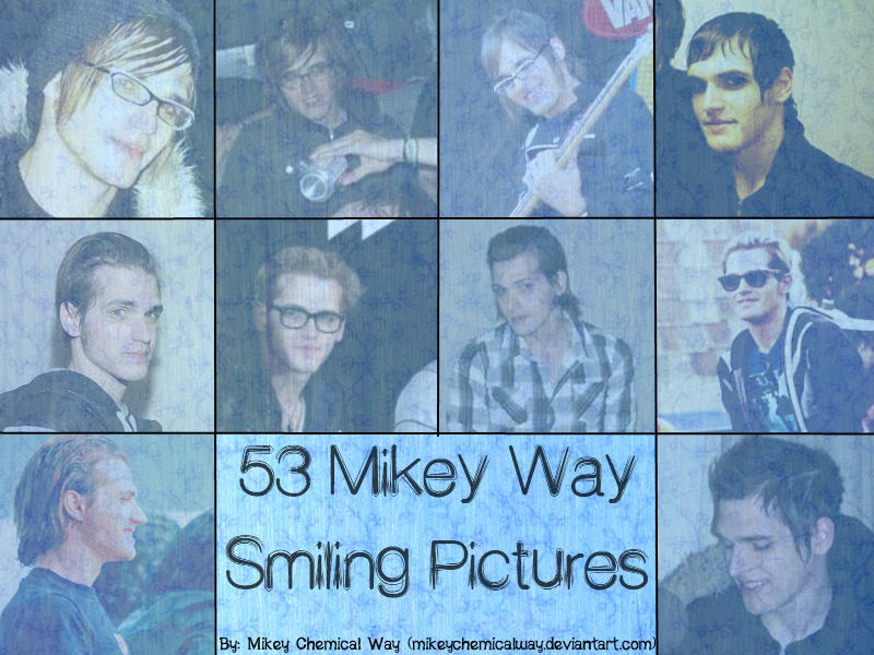53 Pics. Mikey Way Smiling by MikeyChemicalWay