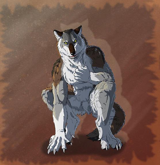 Werewolf Tale 2 - Day 8 by SilverWerewolf09