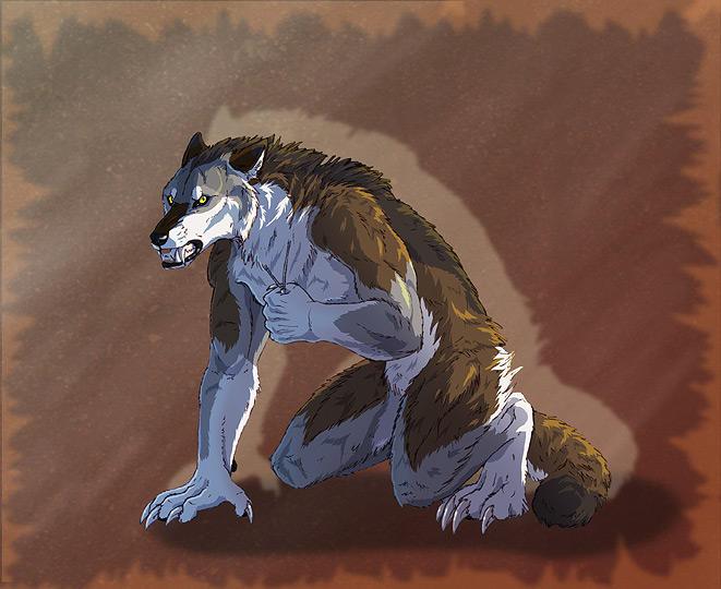 Werewolf Tale 2 - Day 17 by SilverWerewolf09
