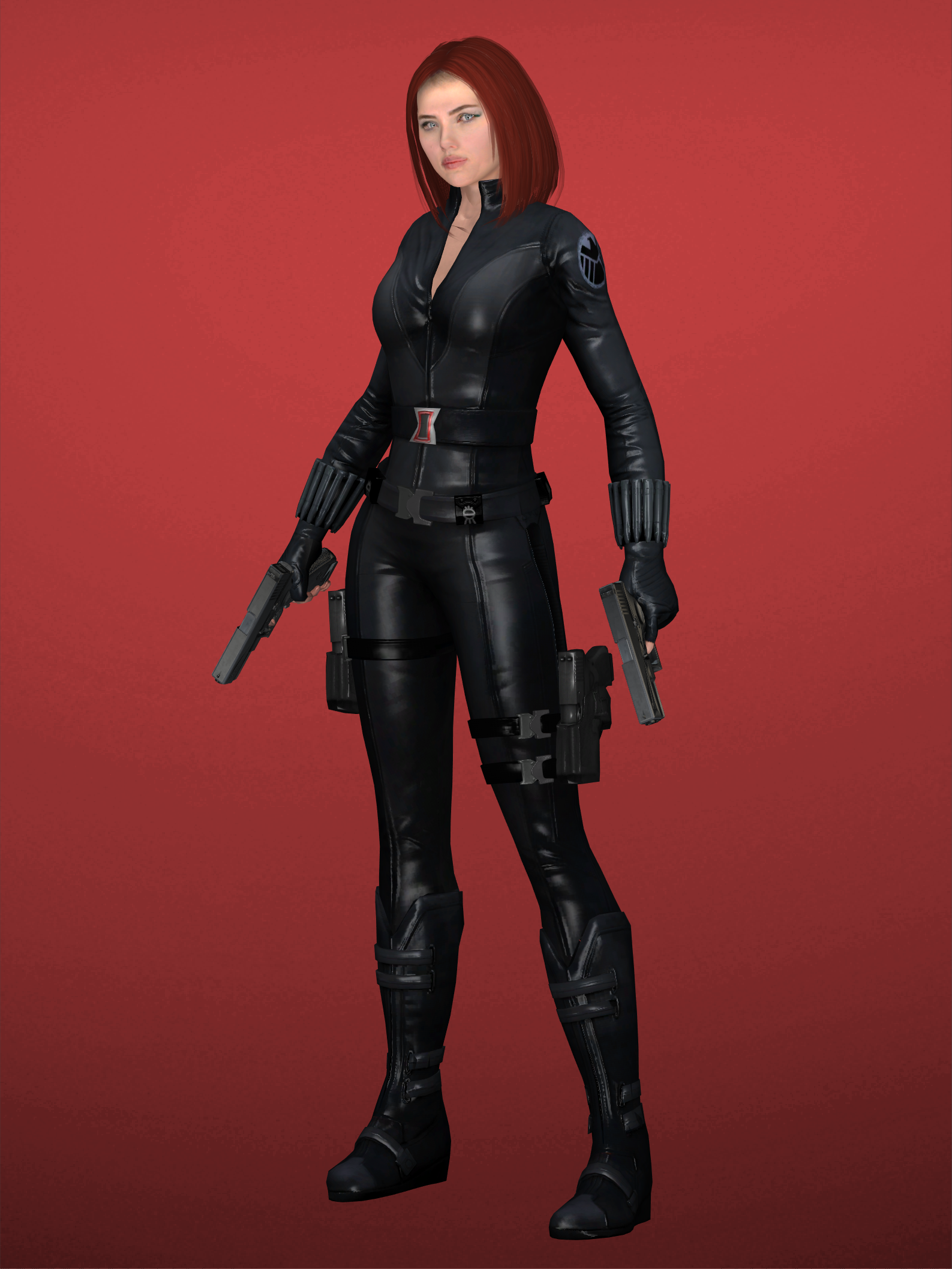 Black Widow Futa black widow (winter soldier) by chrismonvel on deviantart