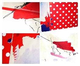 Red Dots Texture by ikeschatzi