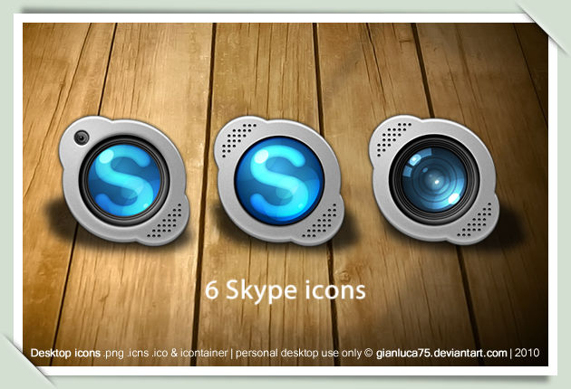 Skype replacement icons