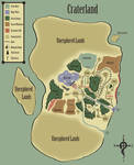 Dungeons and Dragons - World Map - Craterland