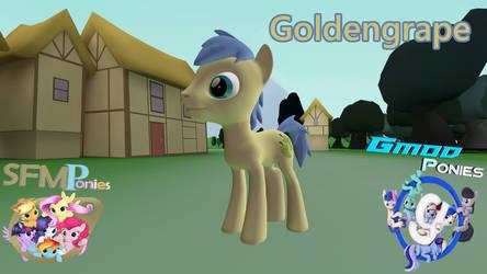 [SFM/GMod] Goldengrape by SuperstarEdge96