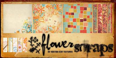 Flower Scraps by SwearToShakeItUp
