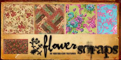 Flower Scraps 02 by SwearToShakeItUp