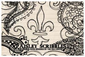 Paisley Scribbles by SwearToShakeItUp