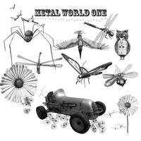 Metal World One Brushes