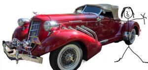 Car 1935 Plus Beautiful Model by Arthur-Ramsey