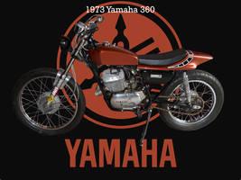 Yamaha 1973 360 Two Stroke by Arthur-Ramsey