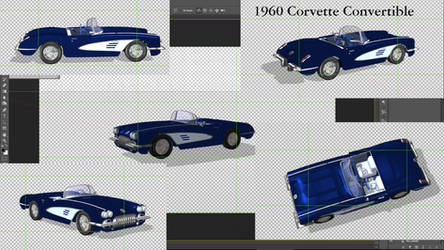 1960 Corvette by Arthur-Ramsey