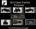 1912 Case Thresher Tractor 3840x2160 by Arthur-Ramsey