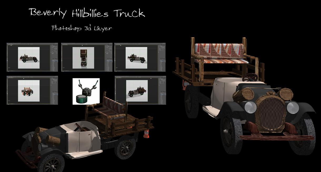 Beverly Hillbillies Truck by ArthurRamsey