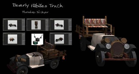 Beverly Hillbillies Truck by Arthur-Ramsey