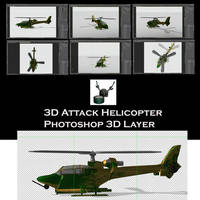 3D Attack Helicopter by Arthur-Ramsey