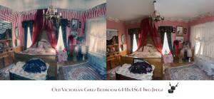 Old Victorian Girls Bedroom