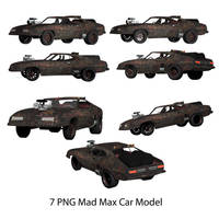 7 PNG Mad Mox Model Car Fury Road by Arthur-Ramsey