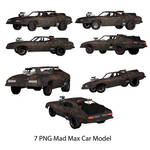 7 PNG Mad Mox Model Car Fury Road