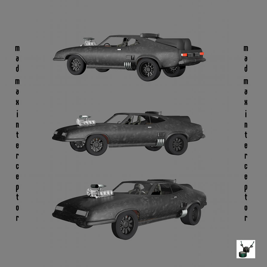Mad Max Interceptor by Arthur-Ramsey