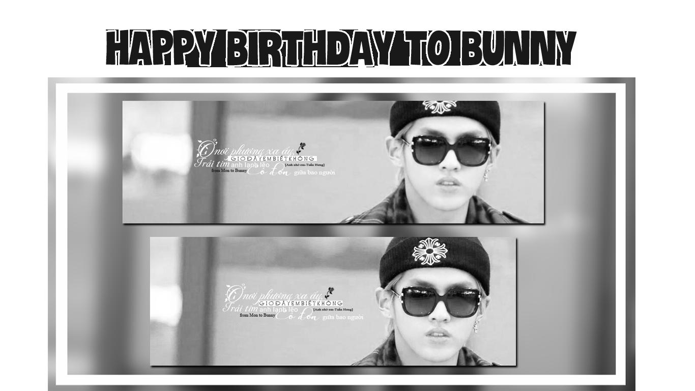 HAPPY BIRTHDAY TO BUNNY [141001] by MonCat-HwangJun