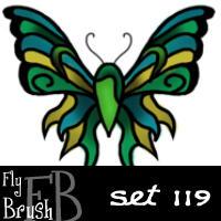 fly brush set 119